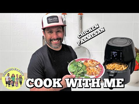 COOK WITH ME   AIR FRIED CHICKEN PARMESAN   AVALON BAY 230B Air Fryer   PHILLIPS FamBam