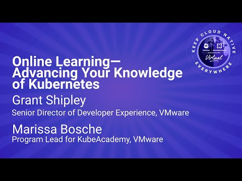 Image thumbnail for talk Sponsored Keynote: Online Learning—Advancing Your Knowledge of Kubernetes