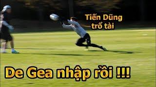 Thử Thách Bóng Đá đi xem Bùi Tiến Dũng U23 Việt Nam bắt penalty bay người đỉnh như De Gea