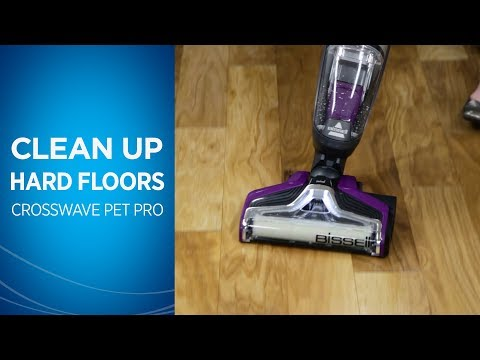 How to Clean Hard Floors with Your CrossWave® Pet Pro
