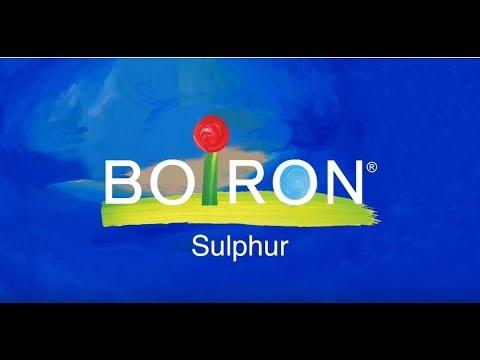 Boiron, Single Remedies, Sulphur, 30C, Approx 80 Pellets