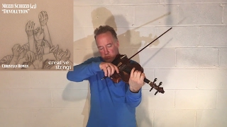 "Improvisation for Unaccompanied Violin #12 - ""Devolution"""