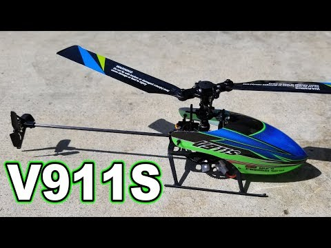 WLtoys V911S RC Helicopter Review