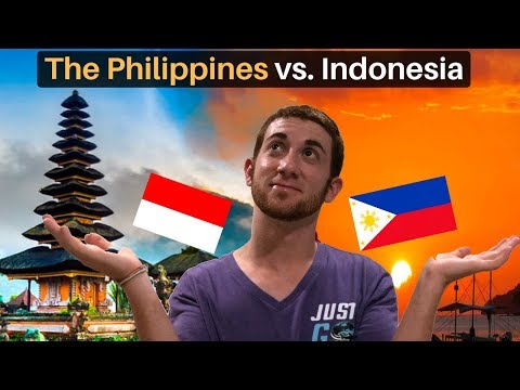 The Philippines Vs. Indonesia | Cultural Differences