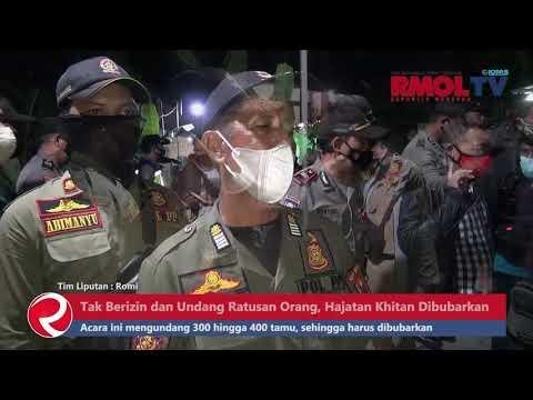 Tak Berizin dan Undang Ratusan Orang, Hajatan Khitan di Semarang Dibubarkan