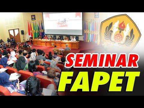 Seminar Fapet Univ Padjajaran Bandung tentang Hitam-Putih Importasi Daging Kerbau dari India