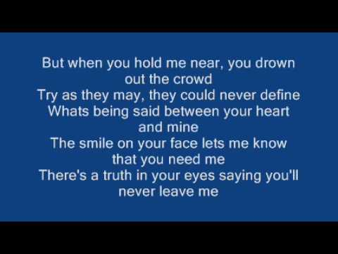 , title : 'Ronan Keating - When You Say Nothing At All ( Lyrics)'