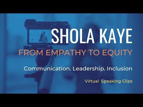 Shola Kaye Virtual Demo Reel
