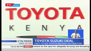 Toyota Kenya partners with Suzuki Motors to distribute Suzuki models