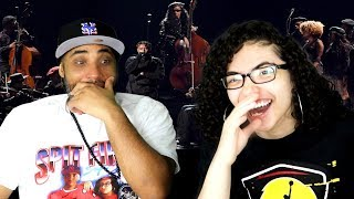 "MY DAD REACTS TO H.E.R & YBN Cordae Perform ""Lord Is Coming"" 