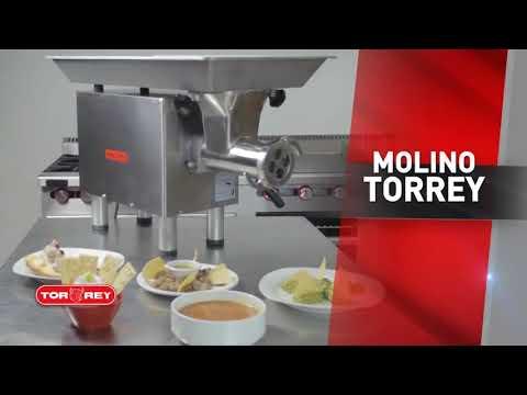 BBG - MOLINO PARA CARNES TORREY M-22 SS- AHORA CON CABEZOTE EN ACERO INOX