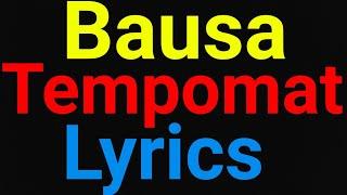 Bausa | Tempomat | Lyrics