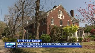 2,500 Xanax bars seized; 4 arrests made in raid of ECU fraternity house