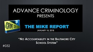No Accountability in the Baltimore City School System