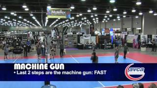 Improve the Timing of Your Approach! - Volleyball 2015 #39