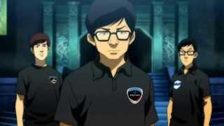 League of Legends World Championship Finals 2013 intro | comic scene