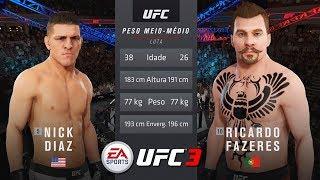 EA SPORTS UFC 3 T.2#9 | RIVAL : NICK DIAZ