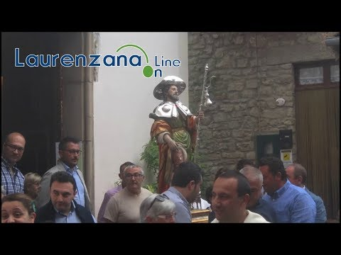 Preview video Video processione festività San Rocco 2019 Laurenzana 16 agosto 2019