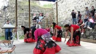 romské tance na Majálesu 2010