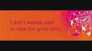 Waiting in vain (with lyrics)