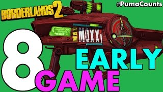 Top 8 Best Early and Low Level Guns and Weapons in Borderlands 2 #PumaCounts