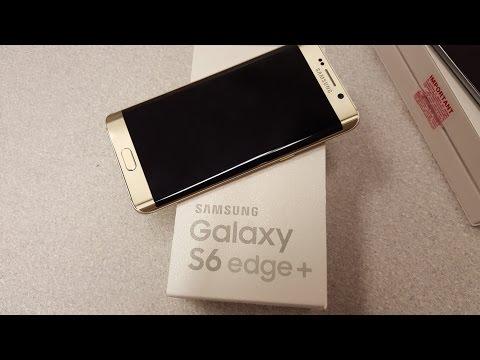 Samsung S6 Edge Plus Unboxing