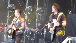 Trivium- Strife, Mayhem Fest, Phx, Az, July 11th 2014