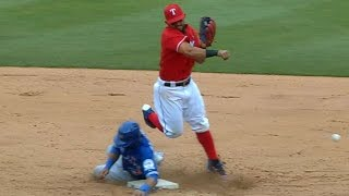 Blue Jays, Rangers get into wild melee - Video Youtube