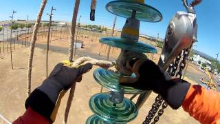 H Structure Insulator Change Out Northwest Lineman College
