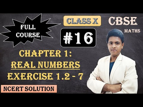 CBSE Full Course | 1 - Real Numbers | Exercise 1.2 :  7.There is a circular path around a sports field. Sonia takes 18 minutes to drive one round of the field, while Ravi takes 12 minutes for the same. Suppose they both start at the same point and at the