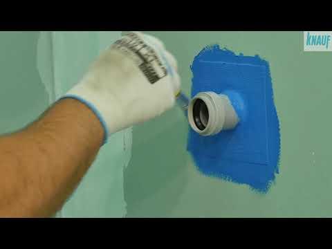 Při stavbě či rekonstrukci koupelny nezapomeňte na hydroizolaci