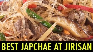 Best Japchae at Jirisan Restaurant