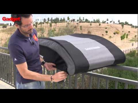 Carpriss:  Review en español. Baúl de techo para coche ¡plegable!