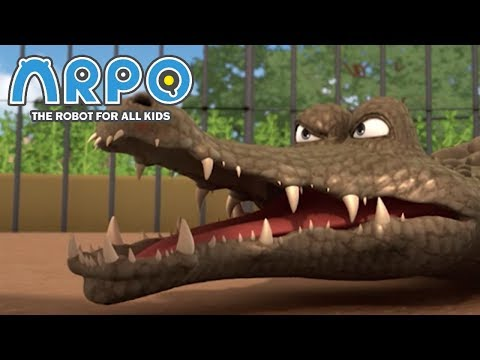 ARPO The Robot For All Kids - Angry Animals | Compilation | Cartoon for Kids Videos For Kids