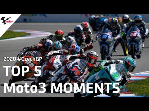 MotoGP チェコGP Moto3ハイライト動画