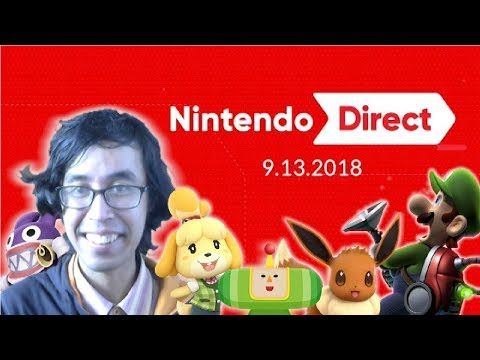 Nintendo Direct 9.13.2018 Full Reaction and Thoughts! (видео)