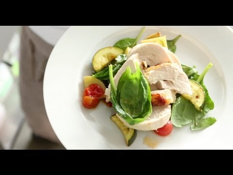 Chicken and Roasted Vegetable Salad | Everyday Food with Sarah Carey