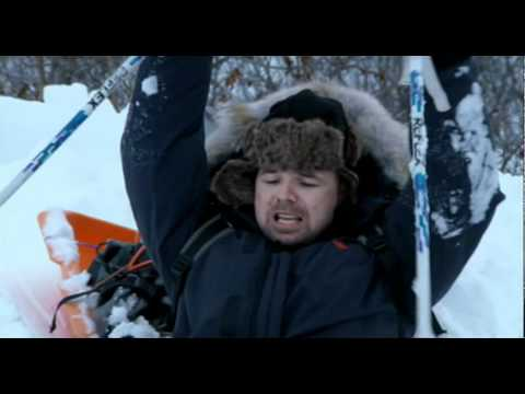 An Idiot Abroad: Karl struggles with deep snow