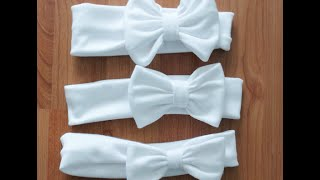 Toddler Bow Headband - Tutorial