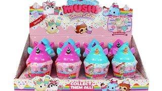 Smooshy Mushy Unicorn Shakes Blind Box Full Case Unboxing Toy Review
