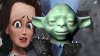 The Lego Yoda Death Sound over various cinematic deaths 2