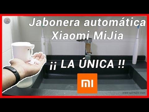 👍 Análisis dispensador automático de jabón Xiaomi MiJia - ¿Cómo recargarlo?