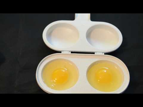 Nordic Ware 2 Cavity Egg Poacher Kitchen Cooking Gadget Review
