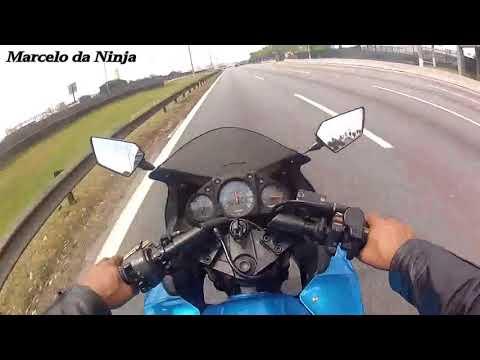 Aceleracao e Top Speed Kawasaki Ninja 250r com relação