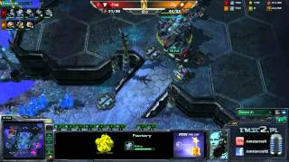 ZvT Bly Vs Polt Shakuras G3 Starcraft 2 HD Polski Komentarz