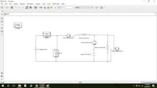 MATLAB Simulink Tutorial for Power electronics- Buck converter