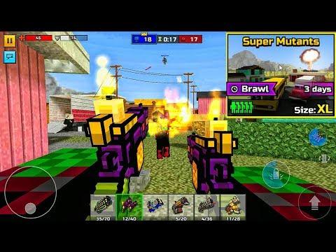 Pixel Gun 3D - Super Mutants Brawl [Gameplay]