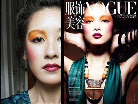 Sun Fei Fei Inspired Editorial Makeup