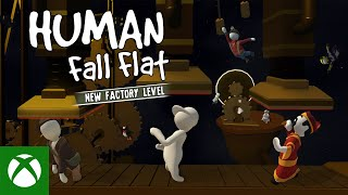 Xbox Human Fall Flat | Factory Level Launch Trailer anuncio