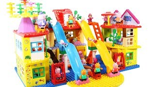 Peppa Pig Blocks Mega House Toys For Kids - Lego Duplo House Construction Sets #8